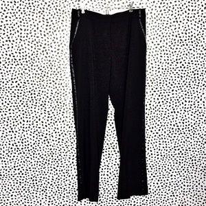 Renuar Collection Black Tuxedo Pants Size 12